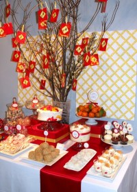 How to Make a Dessert Table Backdrop | My Blog