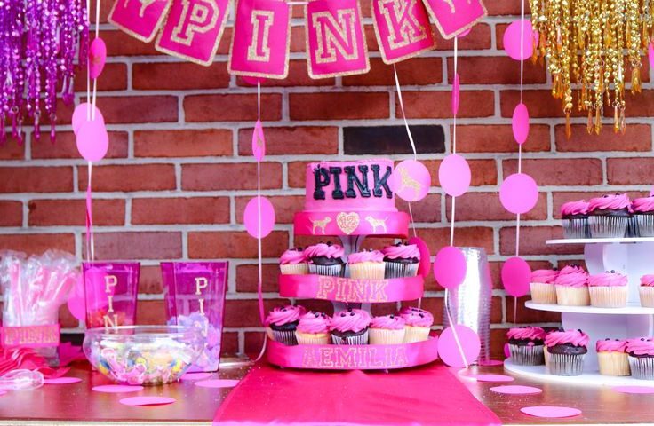 Pink Theme Decoration for Girls Birthday Party - Partyyar