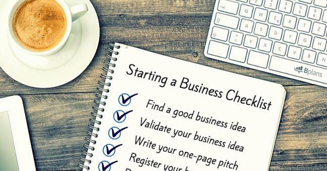 Business Startup Checklist \u2013 Free Download Bplans