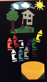 Creative Crayons -- preschool storytime