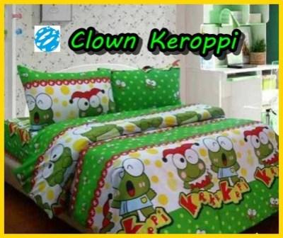 Clown Keroppi Di Jual Sprei Keroppi Jual Tirai Jendela Motif Keroppi