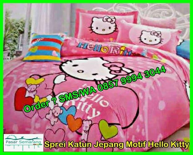 Harga Sprei Hello Kitty Katun Jepang