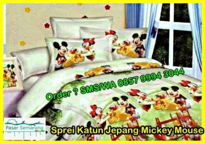Sprei Katun Jepang Mickey Mouse No Image Atribute Value Title Sprei