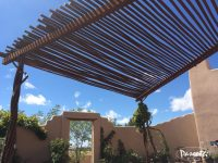 Twisted Pipe Shade Structure | Pascetti Steel Design, Inc.
