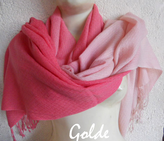 Pashmina Scarf Hong Kong Ombre Shaded Pashmina - Ombrey Shawls | Scarves | Wraps