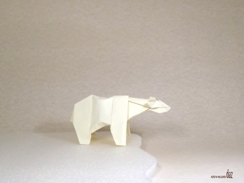 Origami Polar Bear Christmas Origami With Instructions