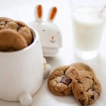 Passagem Gastronômica - Receitas de Cookies com Gotas de Chocolate
