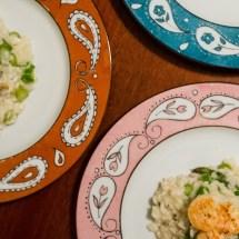 Passagem Gastronômica - Receita de Risoto de Camarão com Aspargos