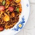 Passagem Gastronômica - Macarrão à Bolonhesa de Verão