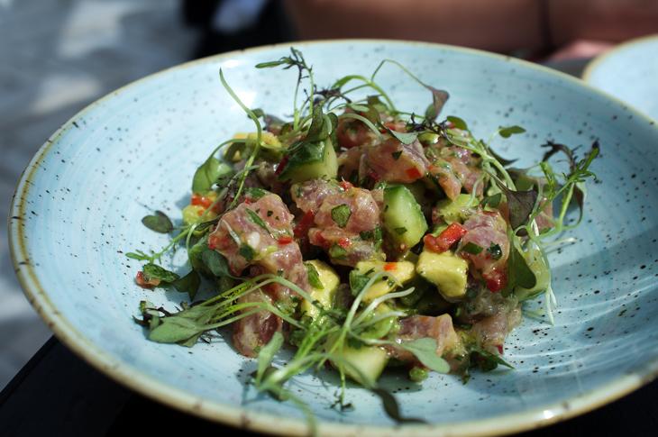Passagem Gastronômica - Tartare de Atum - Vintage Salt - Selfridges