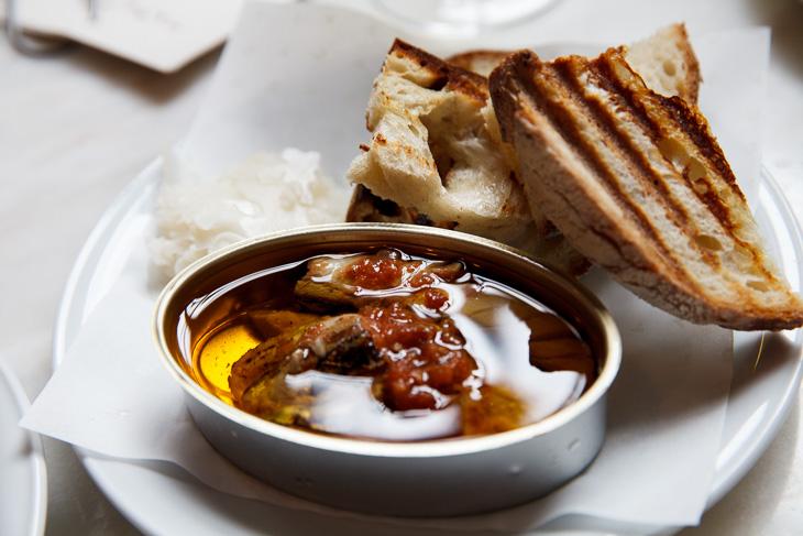 Passagem Gastronômica - Mackerel Tomato Sofrito - Restaurante Taberna do Mercado - Londres