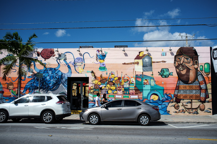 Passagem Gastronômica - Wynwood Walls - Miami