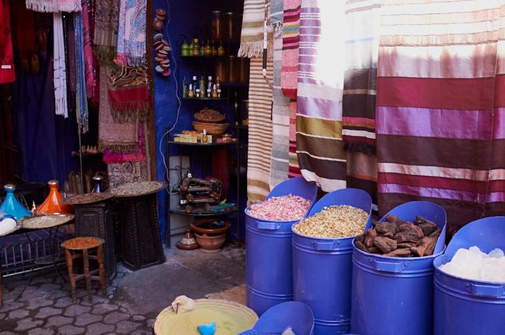 Passagem Gastronômica - Roteiro de Marrakech - Souks