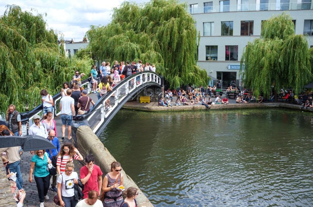 Passagem Gastronômica - Camden Market - Londres