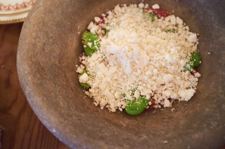 Passagem Gastronômica - Salada de Tomate com Queijo de Cabra - The Dairy
