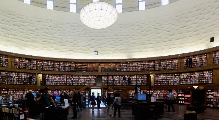 Passagem Gastronômica - Biblioteca Municipal - Estocolmo