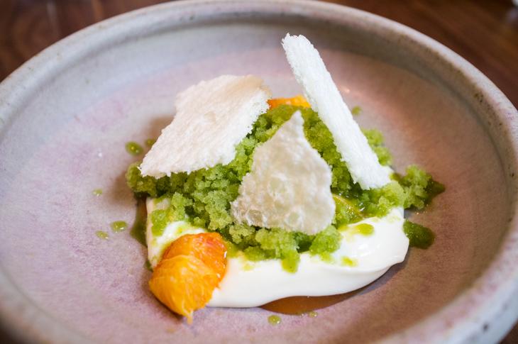Passagem Gastronômica - Sobremesa de Leite - Restaurante The Clove Club - Londres