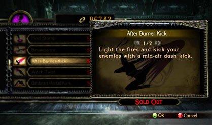 After Burner Kick