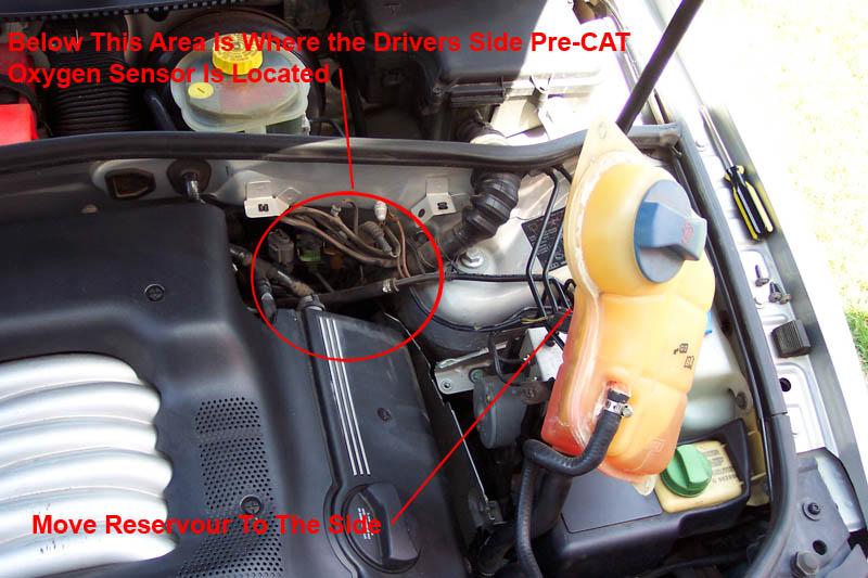 PassatB5 V6 Replace Pre Cat Oxygen Sensor Bank 2 Drivers Side