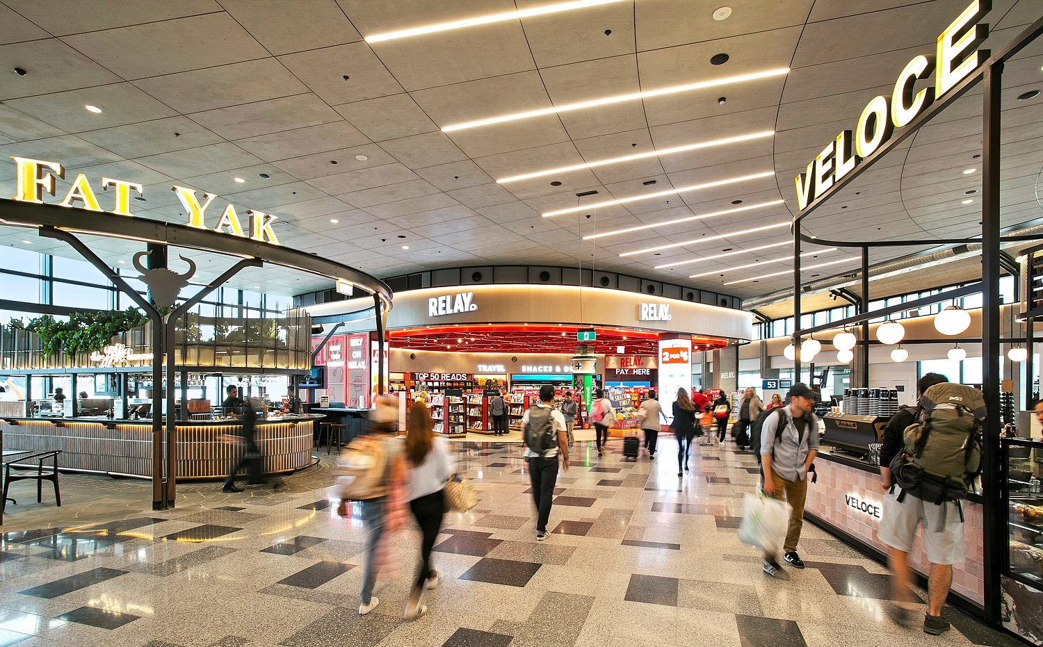 Sydney Airport Shops Sydney Airport Opens Refreshed Lifestyle Precinct In T2 Domestic