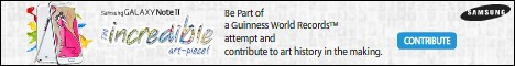 The incredible Art campaign... click and be a part of Guinness World Records