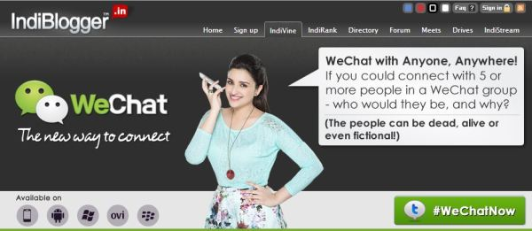 Indi_WeChat_blogging contest_2013