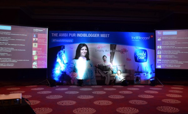 The Indiblogger-Ambipur Meet