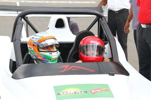 Driving with Narain Karthikeyan_An unforgettable experience!
