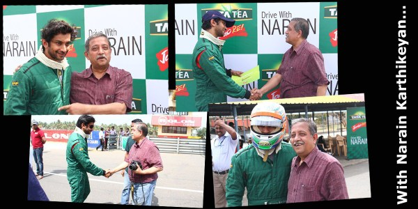Driving with Narain Karthikeyan_An interactive time