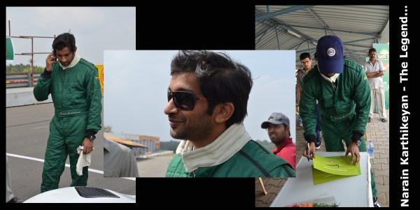 Driving with Narain Karthikeyan_The Legend