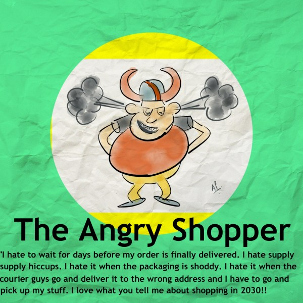 The angry shopper today... waiting for the 'cuffutures' of 2030. read post to know more...
