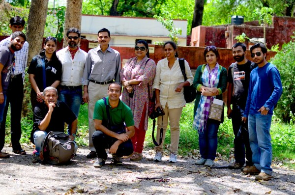 Yes, we met the Conservator of Forests, Ranthambhore too... and the discussion with him was an eye-opener