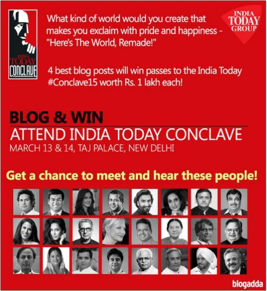 The India Today Conclave #TheWorldRemade