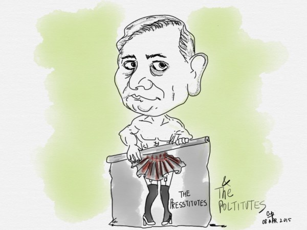General V K Singh launching his 'presstitute' attack