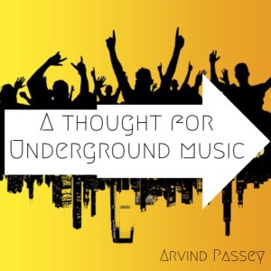 Underground music needs you. #artistaloud #AAMA2014