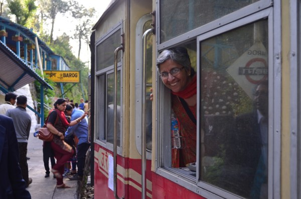 This hill passenger train does bring out smiles and joy!