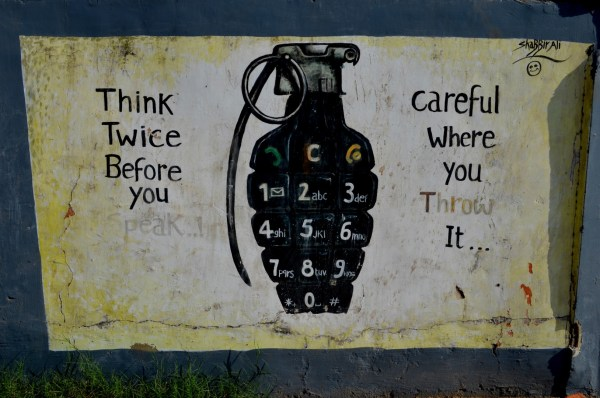 Another interesting graffiti on the wall. Ahmedabad gives me a feeling that art is encouraged in every form...