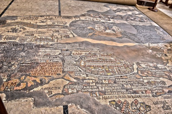 Madaba is where I did some shopping after admiring the massive mosaic map on the floor in the church there