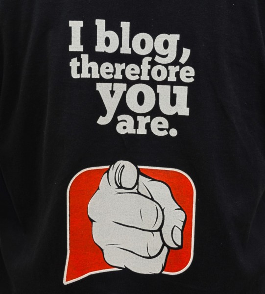 One final message from a blogger to the corporate world! Ha! Ha! :)