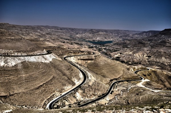 Jordan... from a height is so surreal that it is difficult not to fall in love with this country