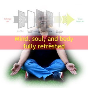 Mind, soul, and body needs purified air. Moonbow. Airpurifiers.