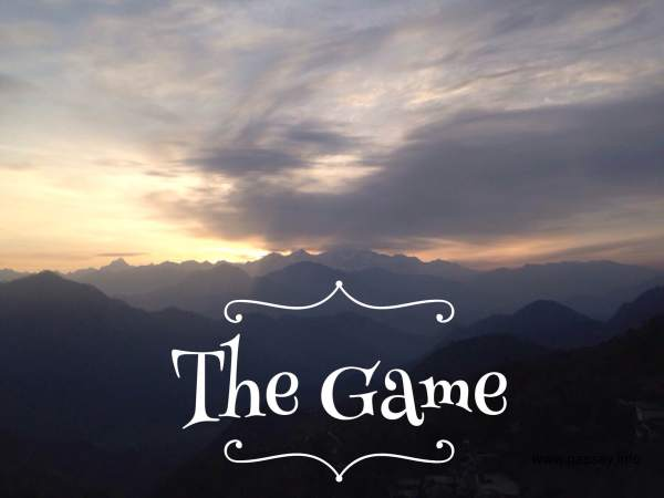 The game - poem - poetry - life -