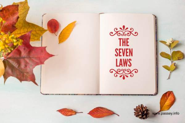 The Seven laws. Published in Poetry Society (India) Anthology.