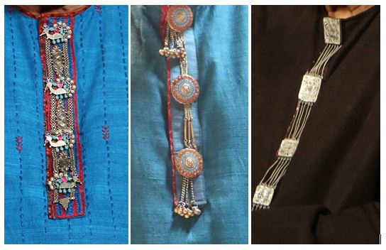 . Kurta buttons, pocket watches, dupatta, brooches, and drapes are all ours to wear with a free mind unencumbered by stiff notions of fashion.