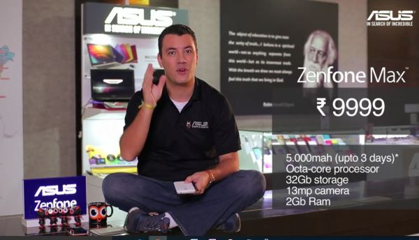 Asus Zenfone Max... Marcel encapsulates the benefits in a rather digestible form