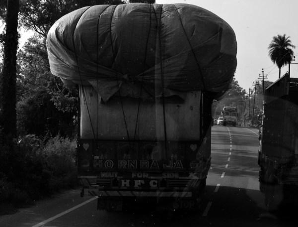 #TheRoyalReuvenation Journey to Namah Resorts. The overloaded truck...