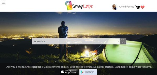 Snapcape - a mobile app for mobile photographersSnapcape - a mobile app for mobile photographers