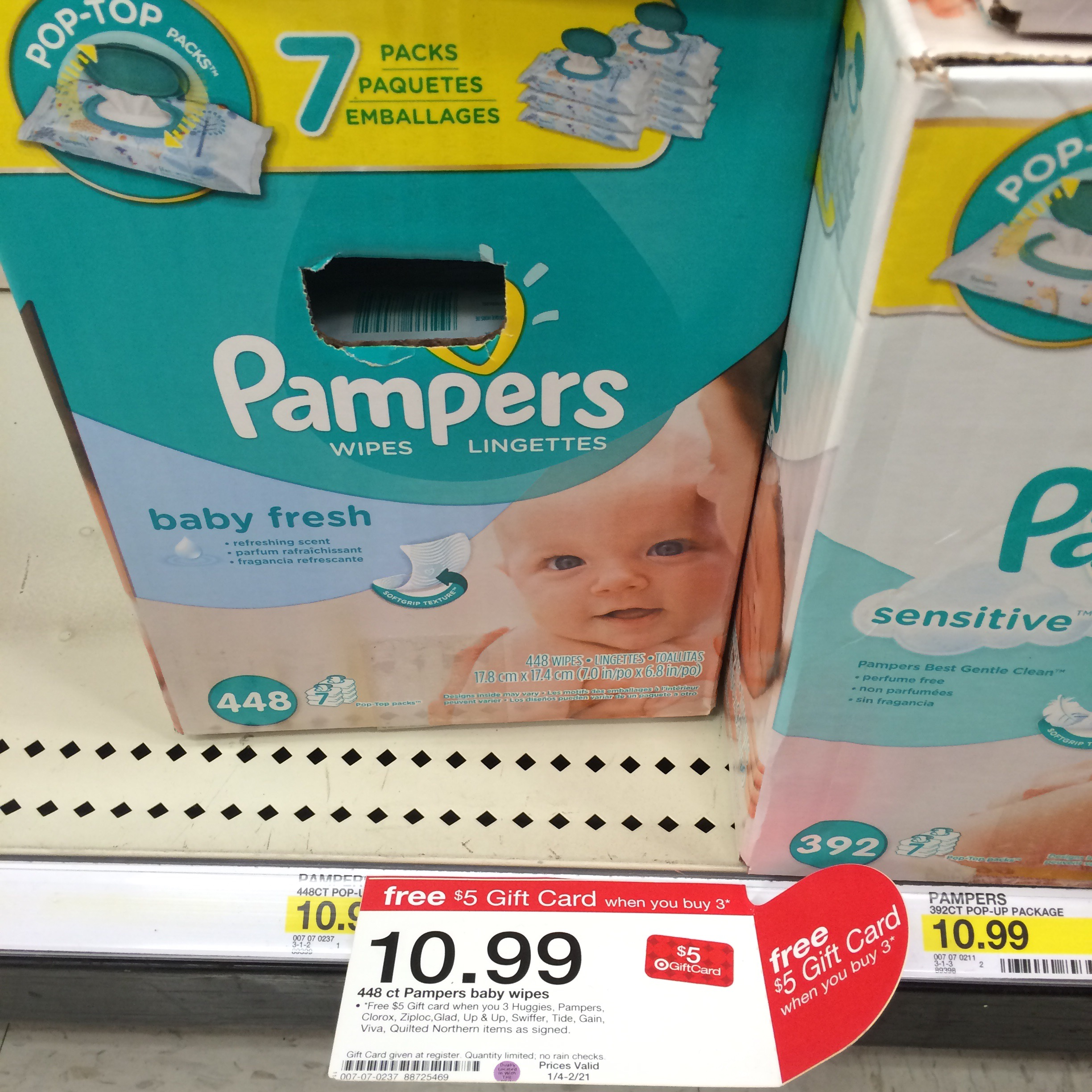 Target Baby Wipes Target 25 Gift Card When You Spend 100 On Baby Products Scenarios