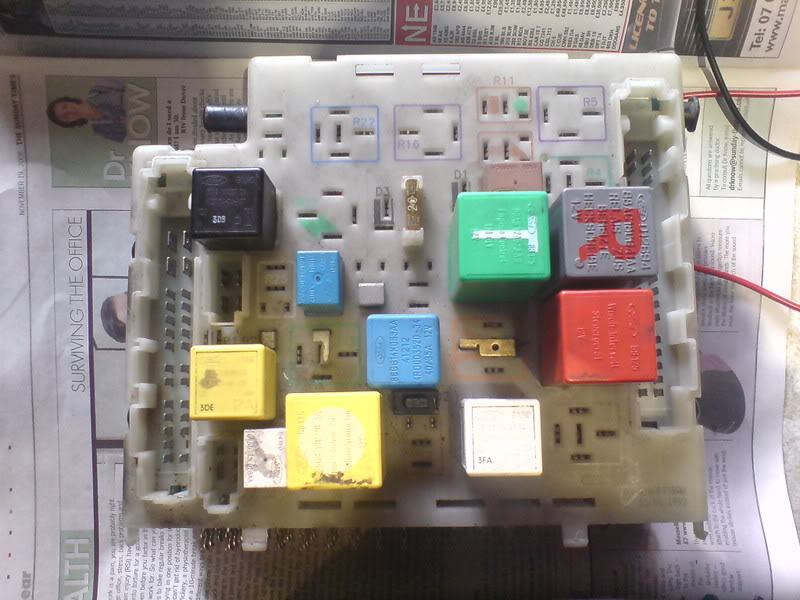 Ford Escort Fuse Box Problems Wiring Diagram