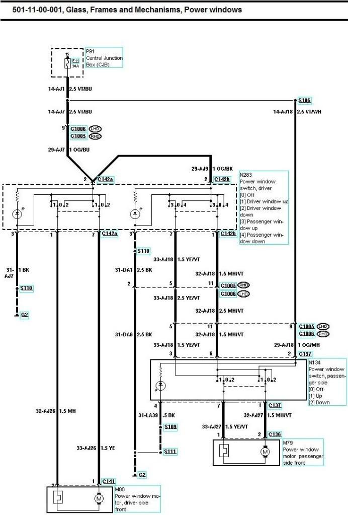 wiring diagram ford puma